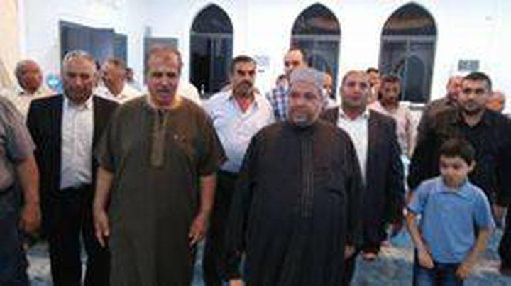 افتتاح مسجد الرحمن في بلدة كفر صور