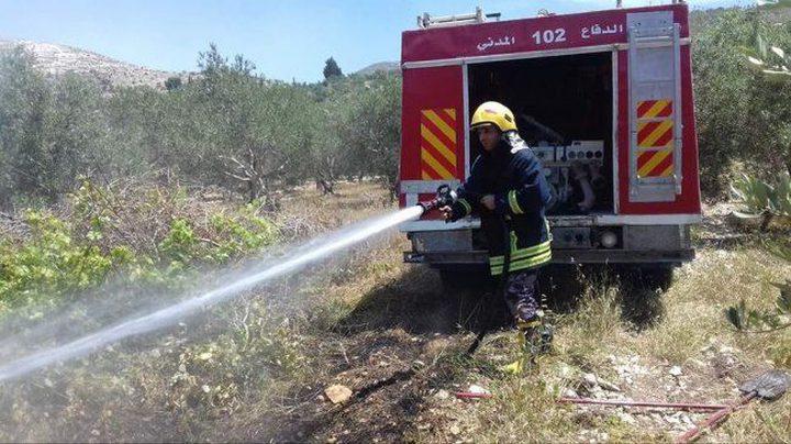 الدفاع المدني يتعامل مع 406 حالة حريق وإنقاذ خلال أسبوع