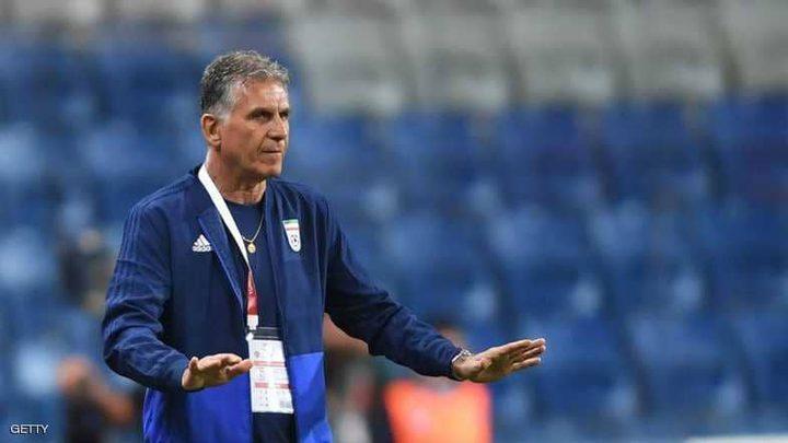 مدرب إيران: لا يريدون اللعب أمامنا