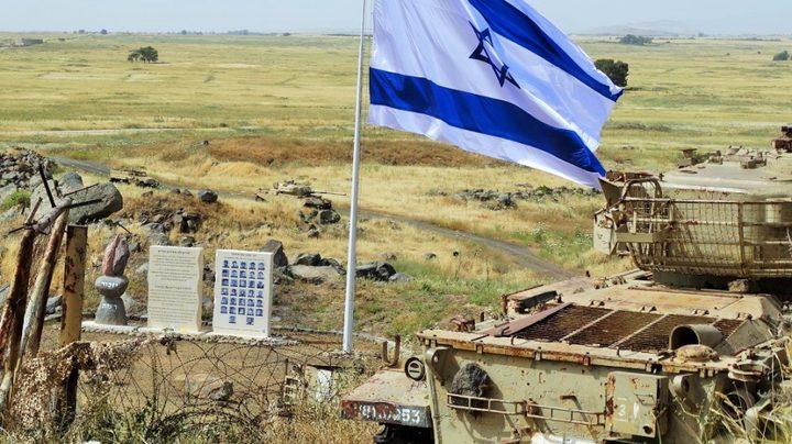 تفاصيل الخطة الأمريكية للاعتراف بالجولان لصالح إسرائيل