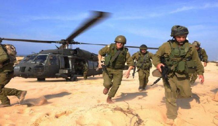 تزامناً مع التصعيد.. مناورات إسرائيلية كبيرة على حدود غزة