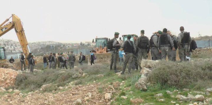 قانون مصادرة الأراضي الخاصة أمام القضاء الإسرائيلي
