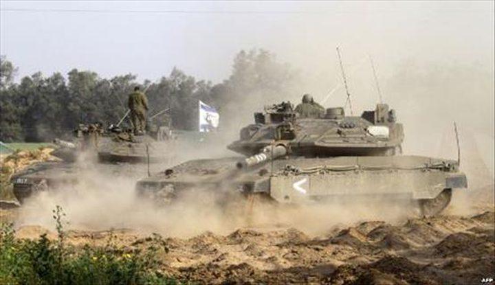توغل محدود لآليات الاحتلال شرق خانيونس