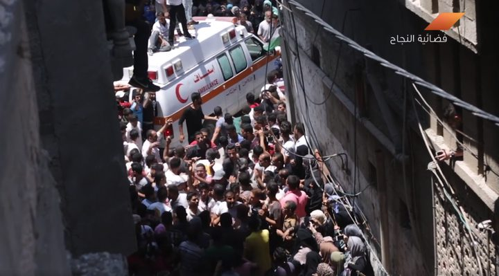 غزة تودع المسعفة رزان النجار (فيديو)