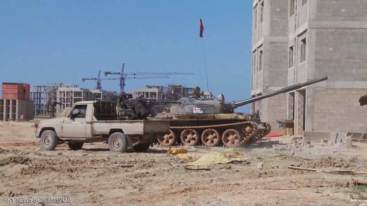 الجيش الليبي يستعيد السيطرة على ميناء درنة