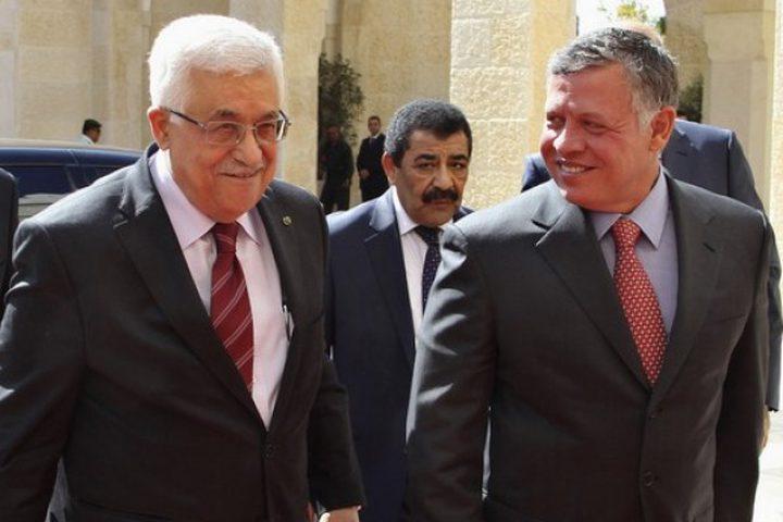الرئيس يجري اتصالا هاتفيا مع الملك عبد الله الثاني