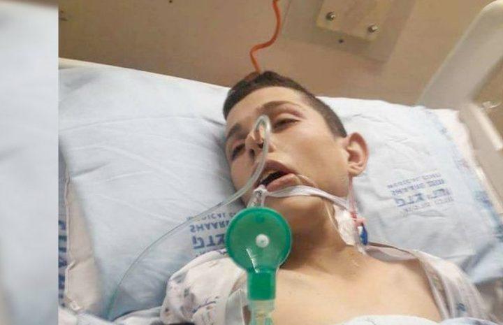 الفتى حسان التميمي يفقد بصره كلياً بسبب الاهمال الطبي