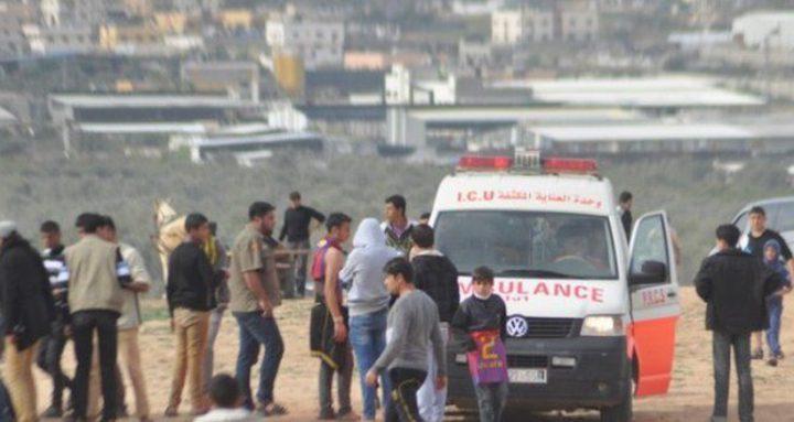 إصابة مواطن برصاص قوات الاحتلال شمال قطاع غزة