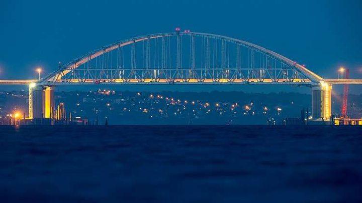 رائد فضاء روسي ينشر صورة فريدة لجسر القرم