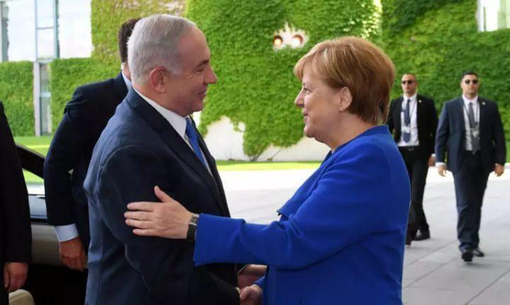 نتنياهو يغادر برلين ويصل باريس