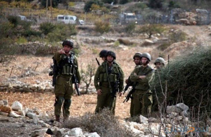 قوات الاحتلال تستولي على أراض جنوب نابلس