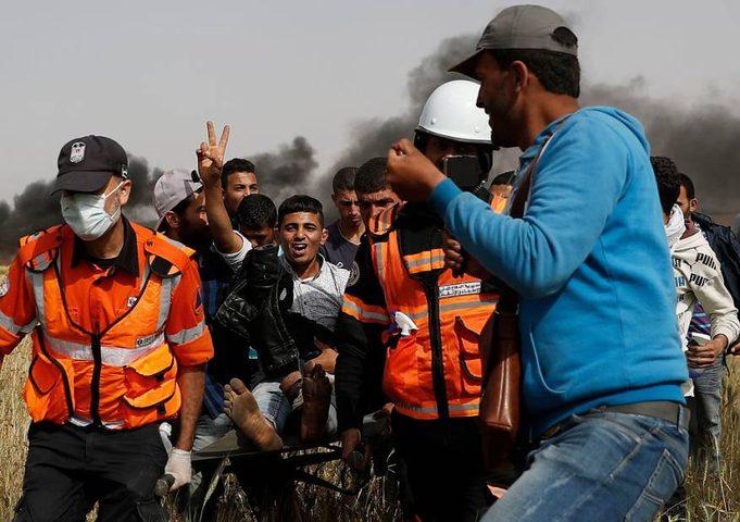 إصابة مواطن برصاص قوات الاحتلال شمال غزة