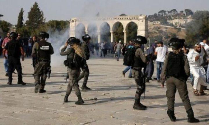 الاحتلال يعتقل 12 مُصليا من داخل الأقصى