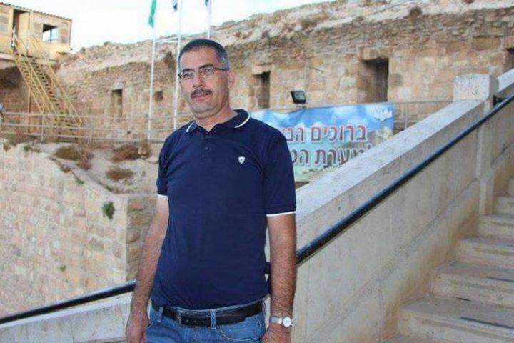 الاحتلال يهدد الناشط أبو عماد جابر بالقتل