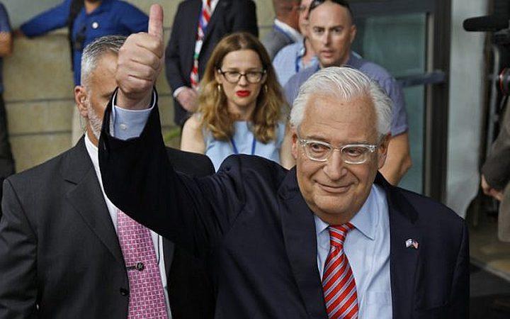 الخارجية الأمريكية : يحق لسفيرنا انتقاد تقارير غزة