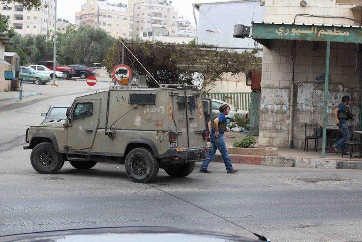 قوات الاحتلال تقتحم مدينة البيرة