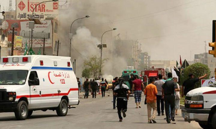 انفجار مزدوج قرب حسينية للشيعة شرقي بغداد