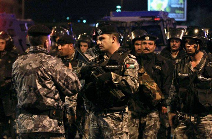 إصابة أحد رجال الدرك الأردني في منطقة الدوار الرابع