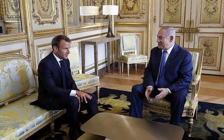 غزة حاضرة في لقاءات نتنياهو مع القادة الأوربيين وماكرون :نقل السفارة سبب العنف!