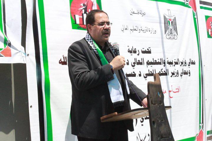 """الاحتلال يقتحم مدرسة """"التحدي 9"""" بعد ساعات من افتتاحها ويصور مرافقها"""