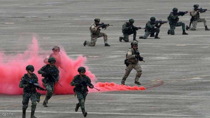 تايوان تتحدى الصين.. بمناورات عسكرية واسعة