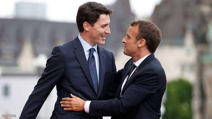 فرنسا وكندا تشكلان مجلس دفاع مشترك