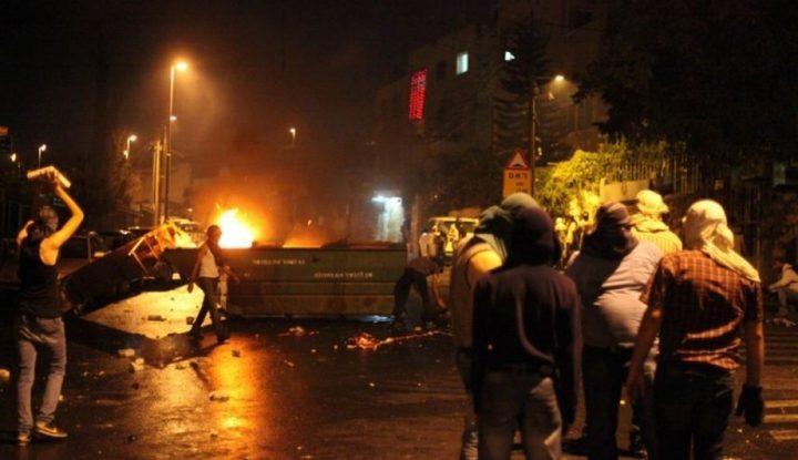 اصابات واعتقالات خلال مواجهات بالضفة