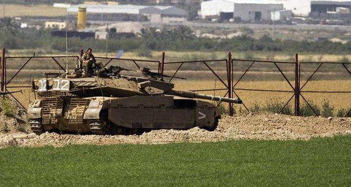 الاحتلال يزعم تعرض موقع عسكري شمالي القطاع لإطلاق نار