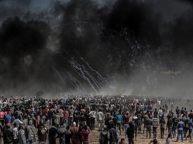 صحة غزة: 127 شهيداً و14700 جريح حصيلة مسيرات العودة