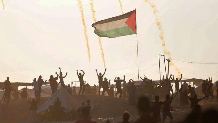 """اختتام """"مليونية القدس"""" والدعوة لاقامة صلاة العيد بمخيمات العودة في """"جمعة التراحم والمواساة"""""""