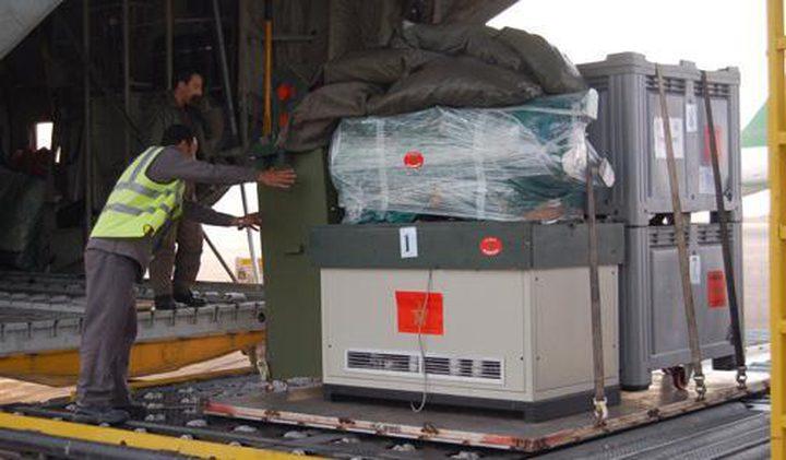 وصول المساعدات المغربية إلى مصر في طريقها لقطاع غزة