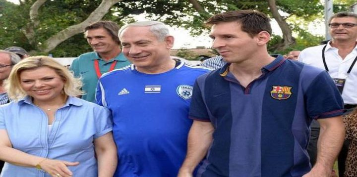 """""""يسرائيل هيوم"""": ميسي تعرض للضغط لإلغاء اللعبة في القدس"""