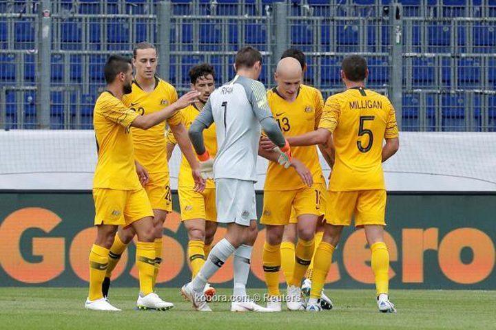 أستراليا تحقق فوزًا صعبًا على المجر قبل المونديال