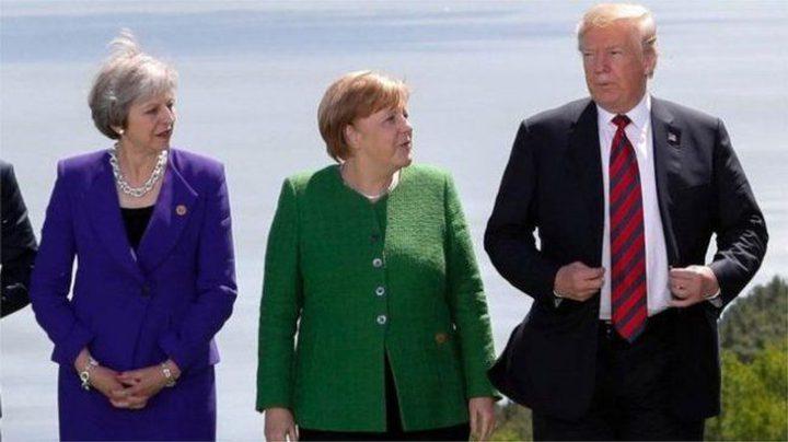 ترامب معزول في قمة مجموعة السبع بسبب التجارة وروسيا وإيران