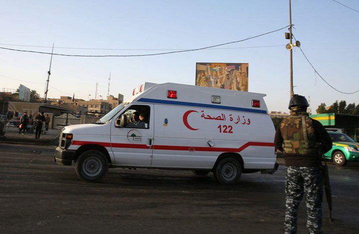 24 قتيلا وجريحا بانفجار وسط سوق في ديالى العراقية