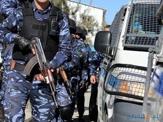 القبض على مطلوب صادر  بحقه 7 مذكرات قضائية بنابلس