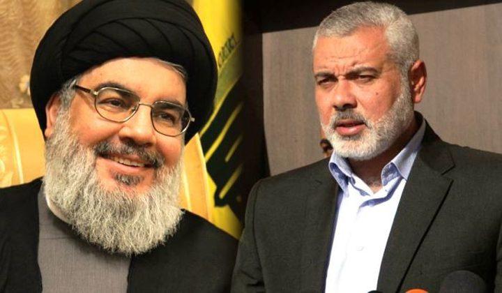 حكومة الاحتلال تبعث رسالة للأمم المتحدة بشأن العلاقة بين حزب الله وحماس