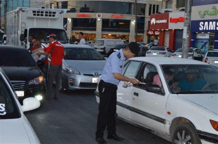 """إطلاق حملة """"رمضان بأمان"""" للتوعية المرورية في جنين"""