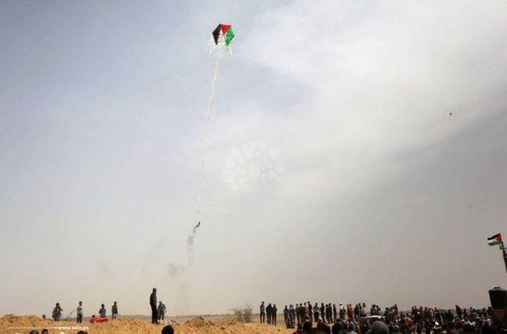"""""""حشرة النار"""" .. سلاح الاحتلال الجديد لمحاربة الطائرات الورقية"""