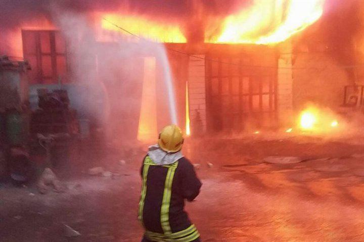 الدفاع المدني يتعامل مع 320 حادث إطفاء وإنقاذ في أسبوع