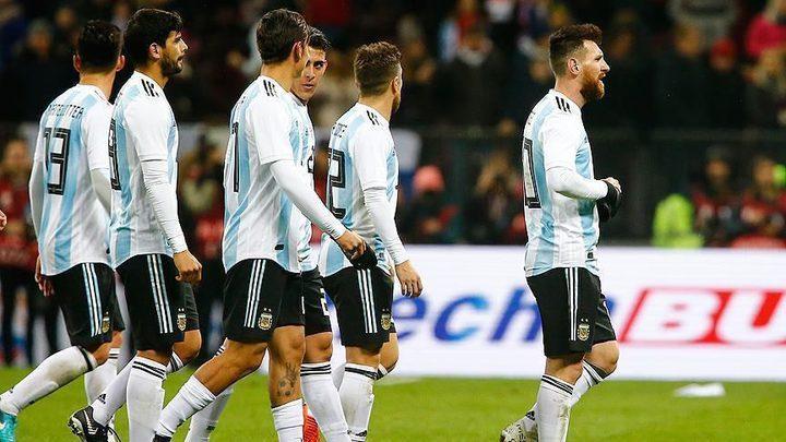 منتخب الأرجنتين يلغي مباراة ضد منتخب الاحتلال (فيديو)