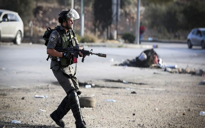 الاحتلال يصيب شاباً شرق بيت لحم