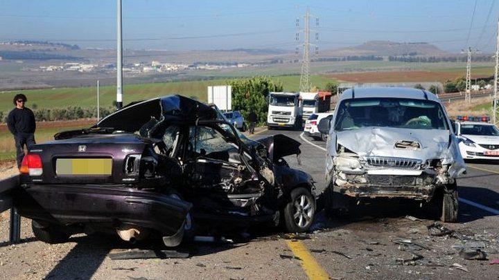 9 إصابات 5 منها خطيرة جدا في حادث سير (فيديو)
