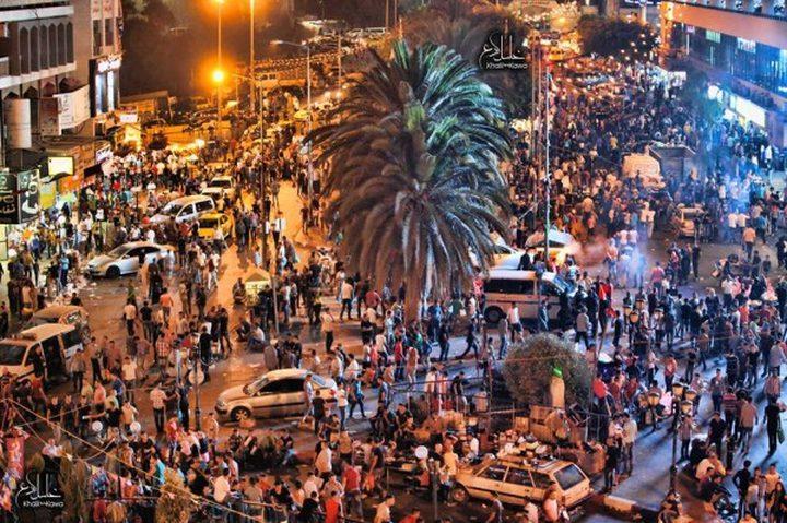 أسواق نابلس لبست حلة العيد  .. يعيش: منعًا للفوضى والعشوائية