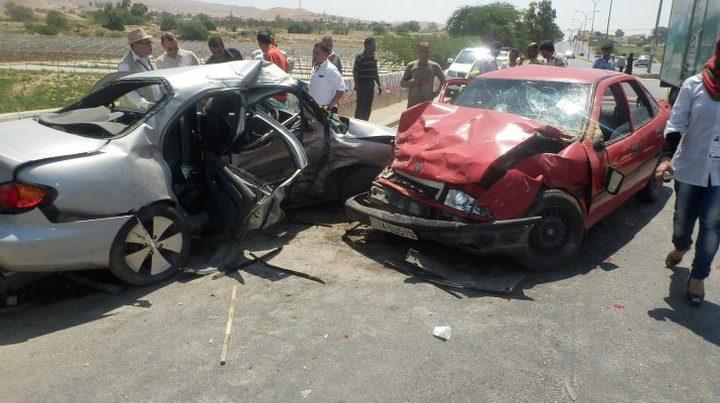 3 اصابات بحادث تصادم جنوب جنين