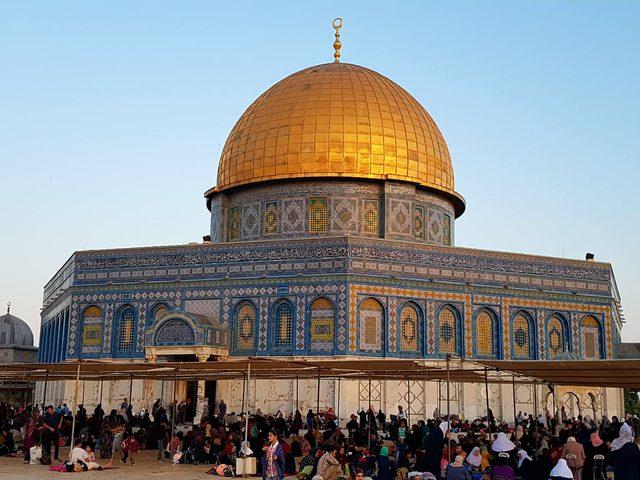 الاستعدادات لإحياء ليلة القدر بالمسجد الأقصى