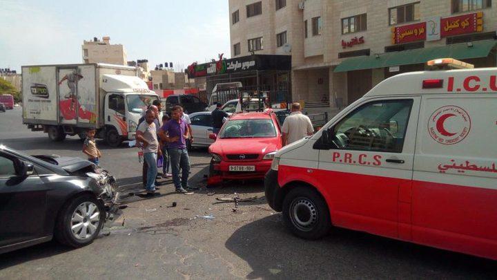 3 وفيات و217 اصابة في حوادث سير وقعت الاسبوع الماضي