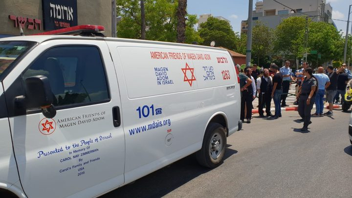 إصابة شاب بزعم طعن اسرائيلية في العفولة(محدث )