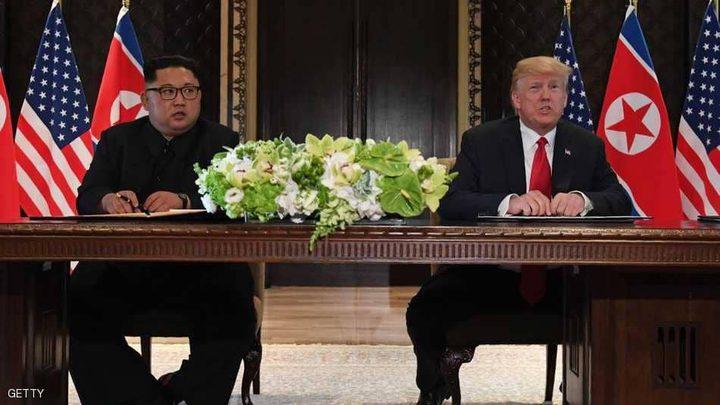 """ترامب وكيم يوقعان """"الوثيقة"""".. نزع النووي قريب جدا"""