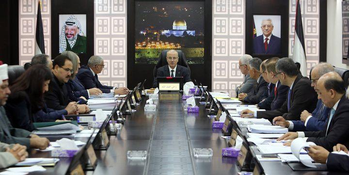مجلس الوزراء يدعو لعدم حرف الأنظار عن معاناة غزة ويرحب بالانضمام للاتفاقيات الجديدة